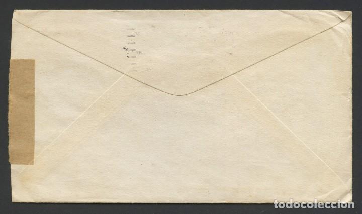 Sellos: GUERRA CIVIL, SOBRE, CIRCULADO DESDE TEXAS (ESTADOS UNIDOS) A SAN SEBASTIÁN, 1937 - Foto 2 - 222528830