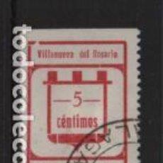 Sellos: VILLA. NUEVA DEL ROSARIO,-MALAGA- 5 CTS- C PEQUEÑA- VER FOTO. Lote 225720990