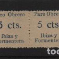 Sellos: IBIZA Y FORMENTERA, VARIEDAD DE CIFRA 5 CTS.- SOFIMA Nº 18-19-20-21. VER FOTO. Lote 225725073