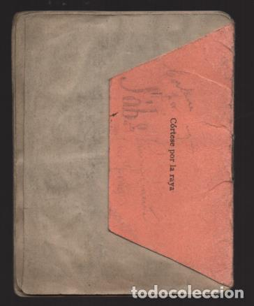 Sellos: MADRID,CARNET, U.G,T. -EL BALUARTE- CON 56 CUOTAS AÑOS 1937-38-39- VARIEDADES, VER FOTO - Foto 8 - 225872623