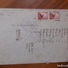 Timbres: CARTA CENSURA MILITAR, INVITACION DE ENLACE, ALICANTE 1939 AÑO DE LA VICTORIA. Lote 226439581
