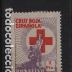 Sellos: VIÑETA,- 1 PTA. CRUZ RIJA ESPAÑOLA, VER FOTO. Lote 228061085
