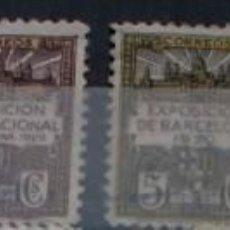 Sellos: LOTE 43 SELLOS DE BARCELONA DEL 1929 AL 1945. Lote 228486488