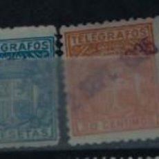 Sellos: LOTE 18 SELLOS TELEGRAFOS DE ESPAÑA.. Lote 228513890