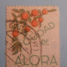 Sellos: VIÑETA - CIUDAD DE ALORA - 5 CENTS -. Lote 228838905
