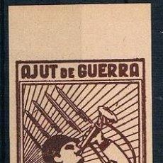 Sellos: ESPAÑA LLORENS AJUT DE GUERRA NUEVO SIN DENTAR MNH**. Lote 232222475