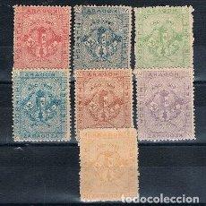 Sellos: ESPAÑA VIÑETAS NACIONALISTAS ARAGON NATHAN A3 (7). Lote 232844225