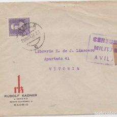 Sellos: CENSURA MILITAR DE AVILA. Lote 233144445