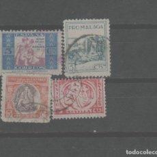 Selos: LOTE K- SELLOS VIÑETAS GUERRA CIVIL BENEFICENCIA. Lote 233396620