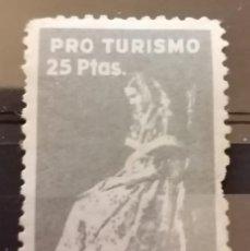 Sellos: PRO TURISMO, G,CIVIL. PAYESA MALLORCA.25 PTAS **,MNH (21-15). Lote 234366235
