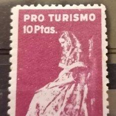 Sellos: PRO TURISMO, G,CIVIL. PAYESA MALLORCA. 10 PTAS **,MNH (21-18). Lote 234366720