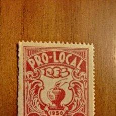 Sellos: PRO-LOCAL AÑO 1950 -1 PESETA. Lote 234625050