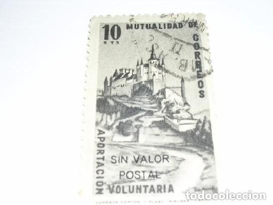 MUTUALIDAD DE CORREOS 10 CTS (Sellos - España - Guerra Civil - De 1.936 a 1.939 - Usados)