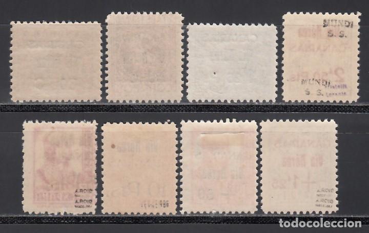 Sellos: CANARIAS, 1937-38 EDIFIL Nº 44 / 51 **/* - Foto 2 - 235167680