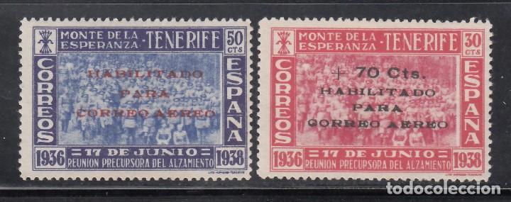 CANARIAS, 1938 EDIFIL Nº 56 / 57 /*/ (Sellos - España - Guerra Civil - Locales - Nuevos)