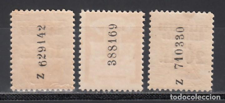 Sellos: BARCELONA, Telégrafos 1936-38 EDIFIL Nº 10 / 12 /**/, SIN FIJASELLOS - Foto 2 - 235570040