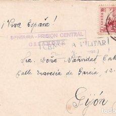 Sellos: CENSURA PRISIÓN CENTRAL CELANOVA. CENSURA MILITAR. 1939. Lote 236131735