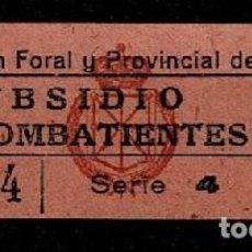 Sellos: A3-6 GUERRA CIVIL DIPUTACION FORAL Y PROVINCIAL DE NAVARRA SUBSIDIO PRO COMBATIENTES FESOFI Nº 13A V. Lote 236149650