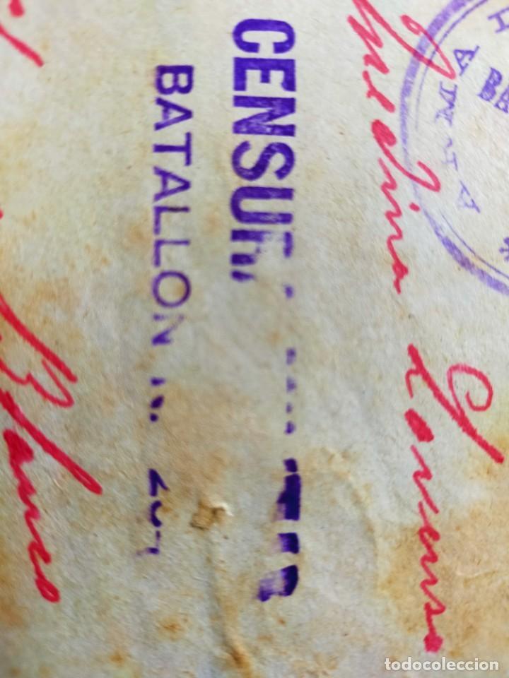 Sellos: Lote 10 Cartas antiguas censura Militar España Pamplona Arrecife - Islas Canarias - Foto 3 - 236704790