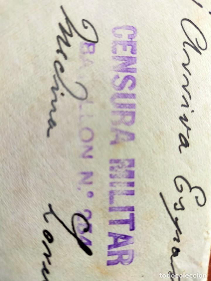 Sellos: Lote 10 Cartas antiguas censura Militar España Pamplona Arrecife - Islas Canarias - Foto 9 - 236704790