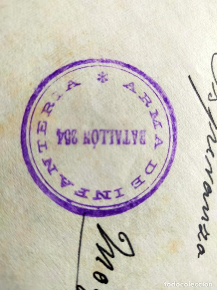 Sellos: Lote 10 Cartas antiguas censura Militar España Pamplona Arrecife - Islas Canarias - Foto 10 - 236704790
