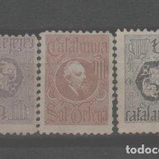 Sellos: LOTE P-SELLOS VIÑETAS CATALUÑA. Lote 263092350