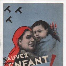 Selos: COMITE D ACCUEIL AUX ENFANTS D ESPAGNE, O,50 FF. ALLEPUZ 1526, VER FOTO. Lote 237660085