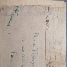 Sellos: CENSURA MILITAR ESPAÑOLA GUERRA CIVIL 1937 (REPÚBLICA). Lote 239497405