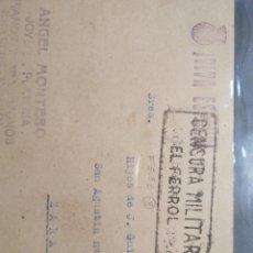 Sellos: CENSURA MILITAR EL FERROL. Lote 239498085