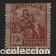 Sellos: ALICANTE,- 1,50 CTS,- JUNTA PROTECCION A LA INFANCIA UTILIZADO COMO SELLO MUNICIPAL.-. Lote 239578030