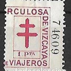 Sellos: FISCAL VIZCAYA - BILBAO . PAÍS VASCO / EUSKADI. Lote 241121445