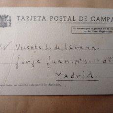 Timbres: GUERRA CIVIL POSTAL DEL CAMPAÑA MADRID 1938. Lote 241428660