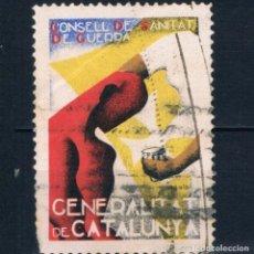 Sellos: VIÑETA GUERRA CIVIL. CONSELL DE SANITAT DE GUERRA. GENERALITAT DE CATALUNTYA. º LOT021. Lote 277223838