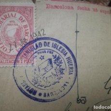 Sellos: COLEGIO NOTARIAL DE BARCELONA.. Lote 243262055