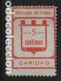 VILLANUEVA DEL TRABUCO-MALAGA- 5 CTS,- VARIEDAD- C DE CENTIMOS- VER FOTO (Sellos - España - Guerra Civil - Locales - Nuevos)