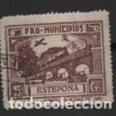 Sellos: ESTEPONA-MALAGA- 5 CTS.- PRO MUNICIPIOS.- VER FOTO. Lote 243349765