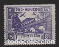 JIMERA DE LIBAR-MALAGA- 5 CTS.- PRO MUNICIPIOS.- VER FOTO (Sellos - España - Guerra Civil - Locales - Usados)