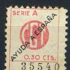 Sellos: ESPAÑA. GUERRA CIVIL. EMISIONES EXTRANJERAS. ARGENTINA. EDIFIL 2514. ROSA PÁLIDO. Lote 243805570