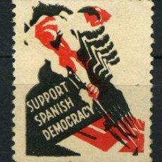 Sellos: ESPAÑA. GUERRA CIVIL. EMISIONES EXTRANJERAS. AUTRALIA EDIFIL 2543R. COLOR ROJO DESPLATADO.. Lote 243807210