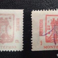 Sellos: MONTEFRÍO (GRANADA). EDIFIL 6 *- 7US. BENEFCENCIA MUNICIPAL.. Lote 243855335