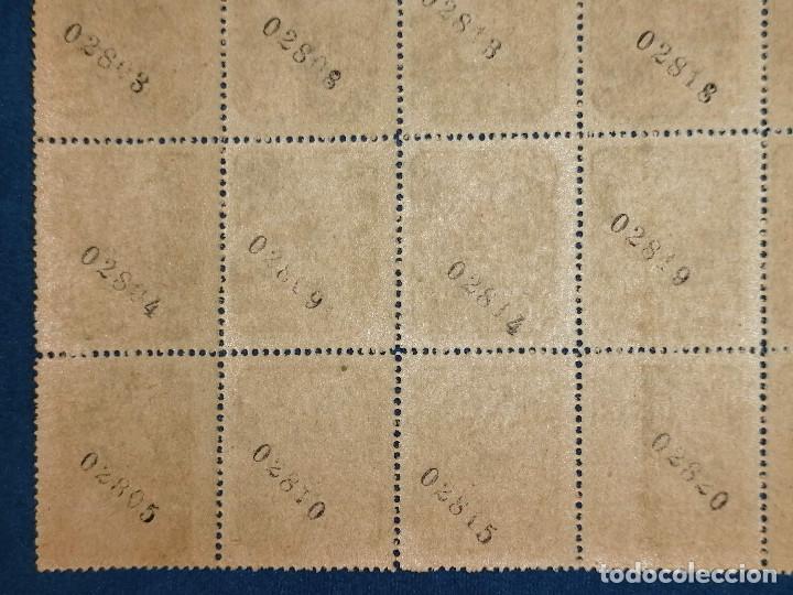 Sellos: España lote sellos Guerra Civil Asturias Leon, Pliego de 50 sellos nuevo *** Edifil 6 Paper gris - Foto 5 - 243925630