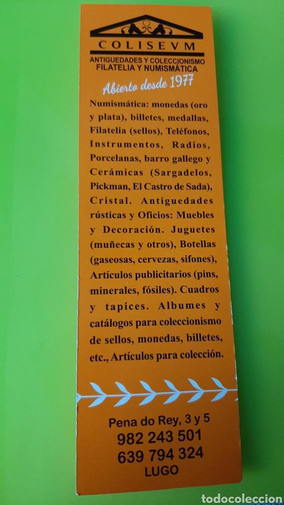 Sellos: LUGO PLIEGO LOCAL CATEDRAL FOURNIER NUMERADO FILATELIA COLISEVM - Foto 2 - 243974285