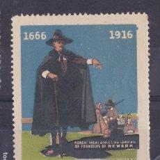 Sellos: SS11- VIÑETA CELEBRATION NEW JERSEY 1916 . SIN GOMA . 55 X 44 MM. Lote 244989455
