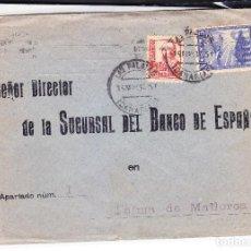 Sellos: SOBRE LAS PALMAS-MALLORCA CON VIÑETA GUERRA CIVIL, CENSURA Y LLEGADA - OFERTA LIQUIDACIÓN. Lote 245003710