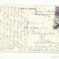 Sellos: POSTAL CIRCULADA 1939 DE PUERTO DE LA LUZ A BERLIN ALEMANIKA CON CENSURA MILITAR DE LAS PALMAS. Lote 245025705