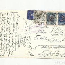 Sellos: POSTAL CIRCULADA 1938 DE PUERTO DE LA LUZ A ALEMANIA CON CENSURA MILITAR DE LAS PALMAS. Lote 245025870