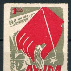 Sellos: ESPAÑA. GUERRA CIVIL. AYUDA A LA VOZ DEL COMBATIENTE. EDIFIL 115. Lote 245204985