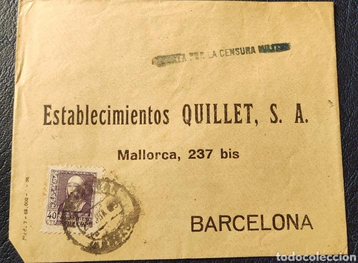 GUERRA CIVIL CARTA CON VIÑETA DIPUTACIÓN PROVINCIAL BENEFICENCIA GRANADA 1939 (Sellos - España - Guerra Civil - Viñetas - Nuevos)