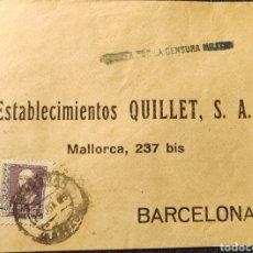 Sellos: GUERRA CIVIL CARTA CON VIÑETA DIPUTACIÓN PROVINCIAL BENEFICENCIA GRANADA 1939. Lote 245295405