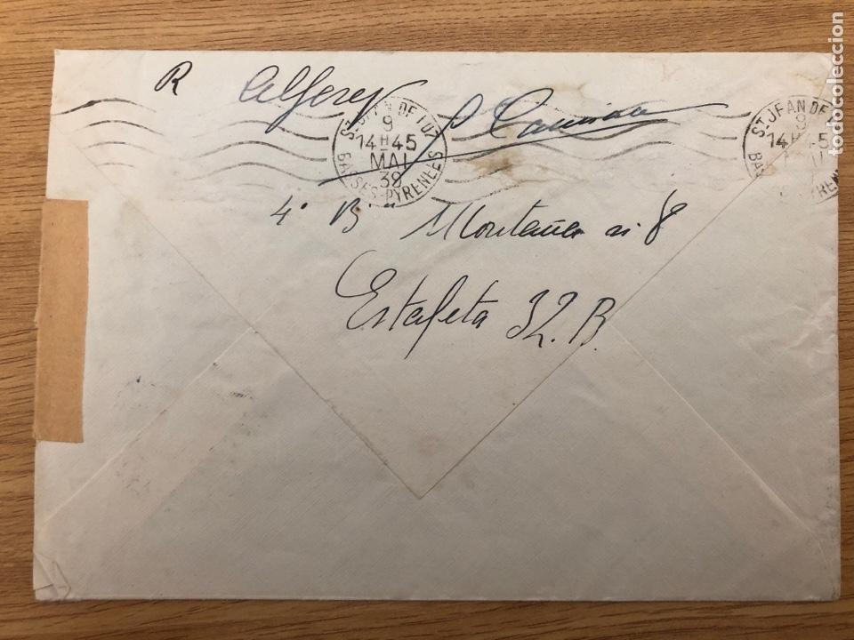 Sellos: 1939 mayo. Batallón montaña Sicilia 8 censura y marca. Llegada - Foto 2 - 245424200